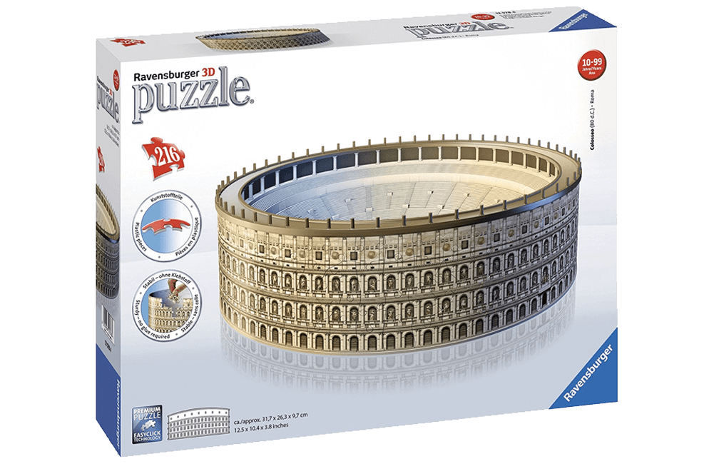 Puzzle 3d Ravensburger Colosseo