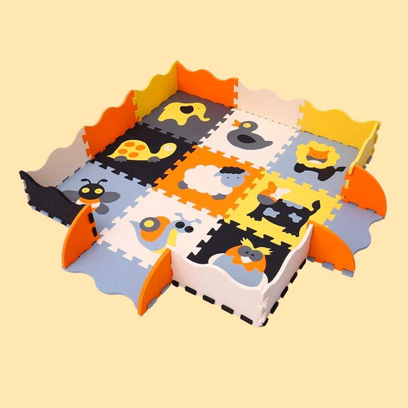 Tappeto Puzzle Schiuma