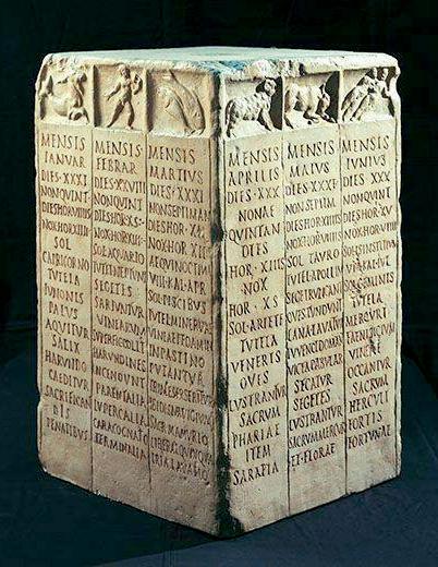 Calendario Romani Puzzle Roma Antica