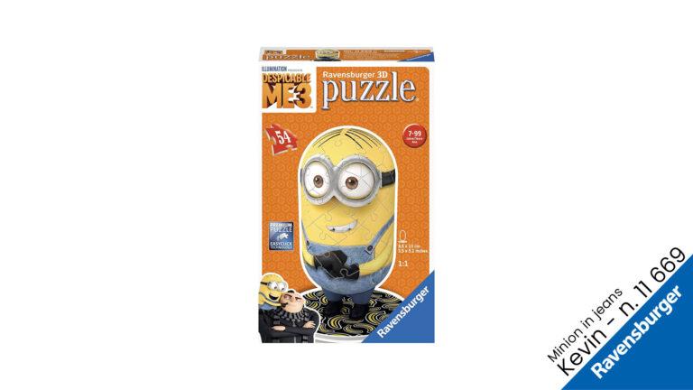 Minion Kevin Puzzle 3d