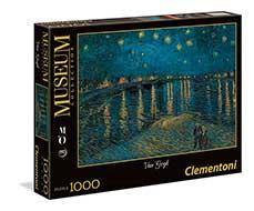 premio puzzle marzo di' la tua e vinci van gogh notte stellata