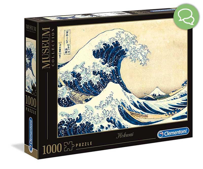 Puzzle Hokusai