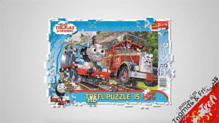 Puzzle Trenino Thomas Video