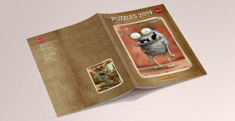 Puzzle Heye Catalogo 2019