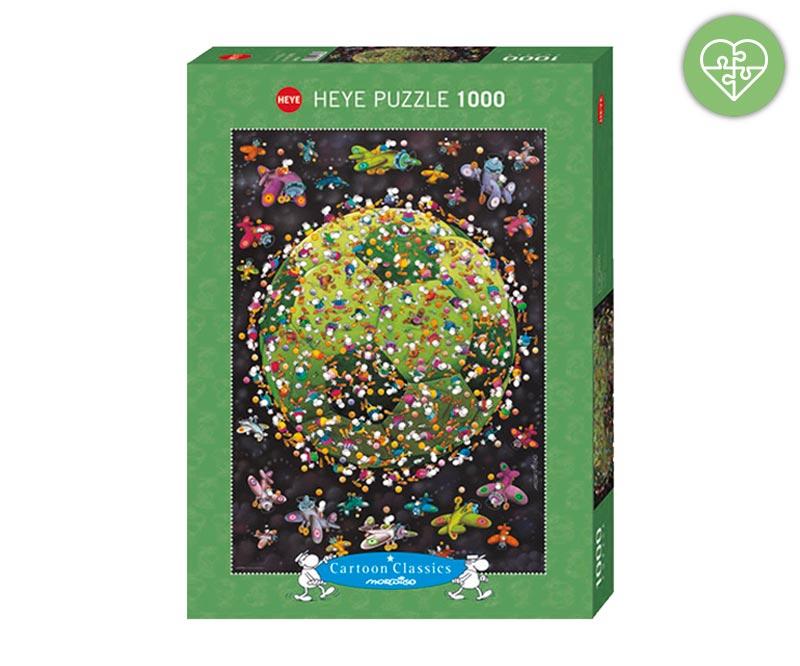 Mordillo Puzzle Pallone Da Calcio