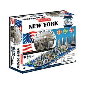 Puzzle 4d Cityscape