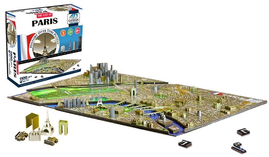 Puzzle Parigi 4d