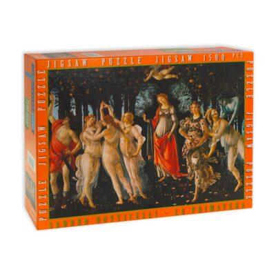 La Primavera Botticelli Fronte Scatola 1