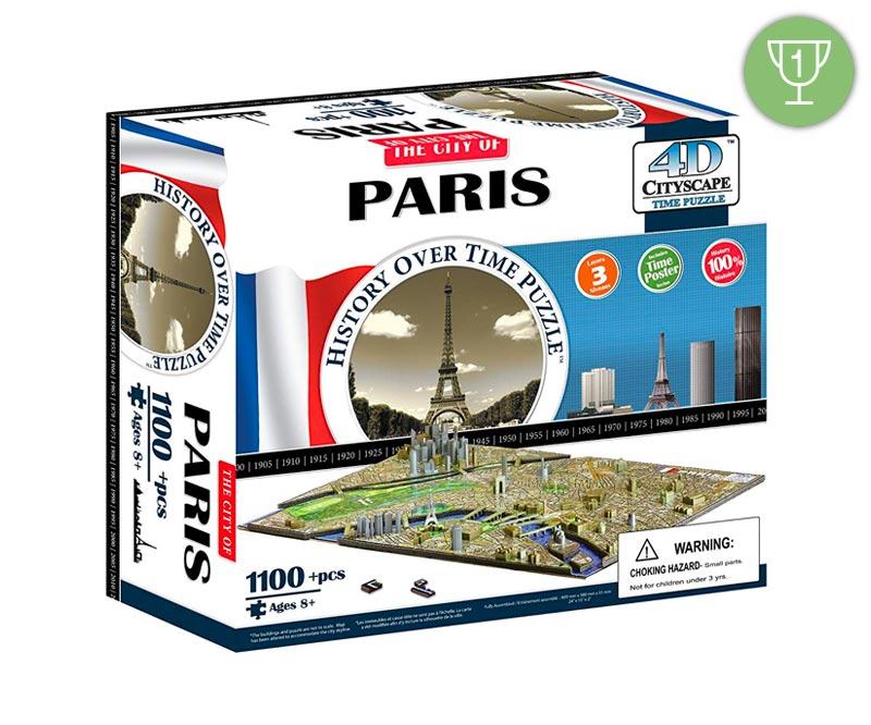 Puzzle 3d Parigi Vincitore Settembre