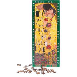 Puzzle Bacio Klimt Scatola Tasselli
