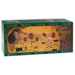 Puzzle Il Bacio Klimt Scatola Fronte