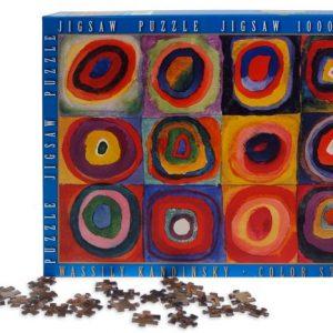 Puzzle Kansinsky Studio Del Colore Scatole Tasselli