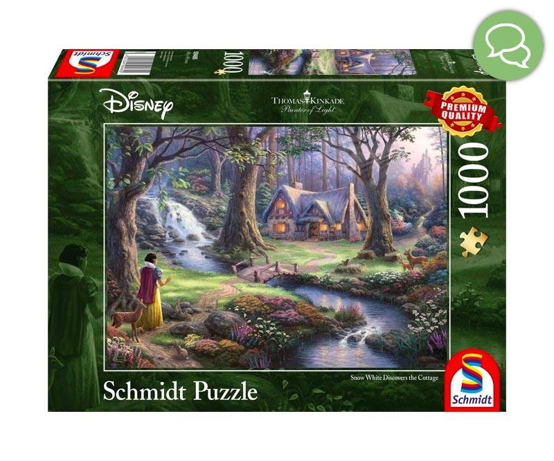 Puzzle Kinkade Disney Commenti Ottobre