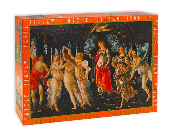 Puzzle Arte Rinascimentale Botticelli La Primavera