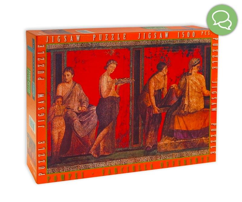 Puzzle Da 1500 Pezzi La Fanciulla Offerente Pompei