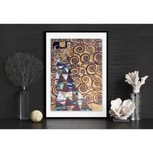 Puzzle Klimt L Attesa Cornice
