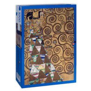 Puzzle Klimt L Attesa Scatola Fronte
