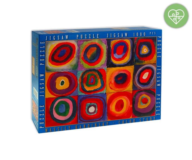 Quadro Kandinsky 1000 Pezzi Premio Marzo