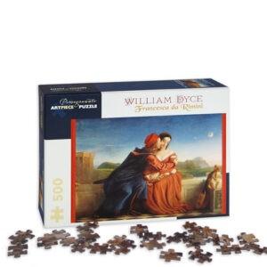 Francesca Da Rimini William Dyce Pezzi Puzzle