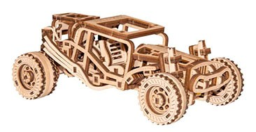 Puzzle 3d in legno Buggy premio maggio