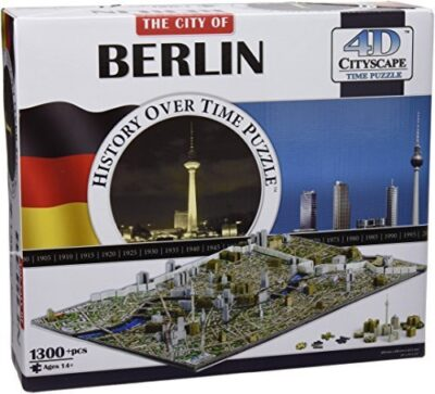 4d Cityscape Usa History Time Puzzle By 4d Cityscape 0