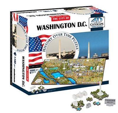 4d Washington Dc Cityscape Time Puzzle 0