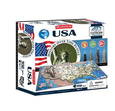4dcityscape Time Puzzle Usa 0 0