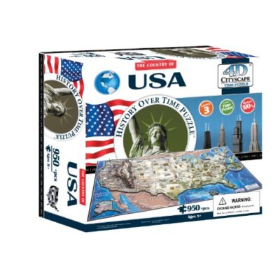 4dcityscape Time Puzzle Usa 0