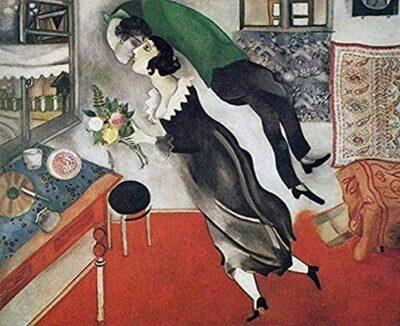 Bbsjx Jigsaw Puzzle Puzzle Per Adulti 1000 Pezzi Puzzle In Legno Marc Chagall Giocattolo Educativo Di Decompressione Problematico Impegnativo Regali Di Compleannobrain Challenge Puzzle 75x50cm 0
