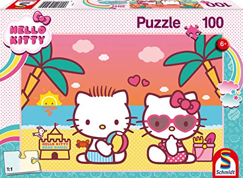 Badespas Mit Kitty Puzzle 100 Teile Kinderpuzzle Hello Kitty 100 Teile 0