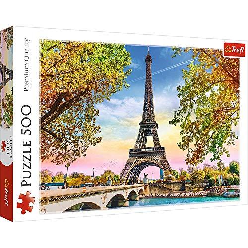 Brandsseller Puzzle Torre Eiffel Parigi 500 Pezzi 0