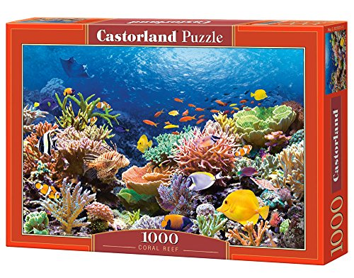 Castor 101511 Pesci Nella Barriera Corallina Puzzle 1000 Pezzi 0