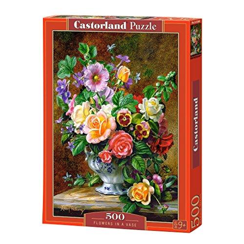 Castorland Flowers In Un Vaso Puzzle Da 500 Pezzi Multicolore B 52868 0