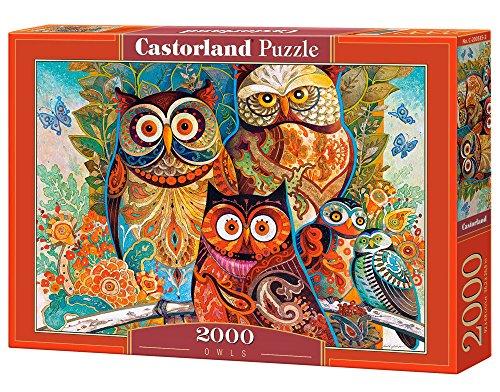 Castorland Gufi Puzzle 2000 Pezzi 0
