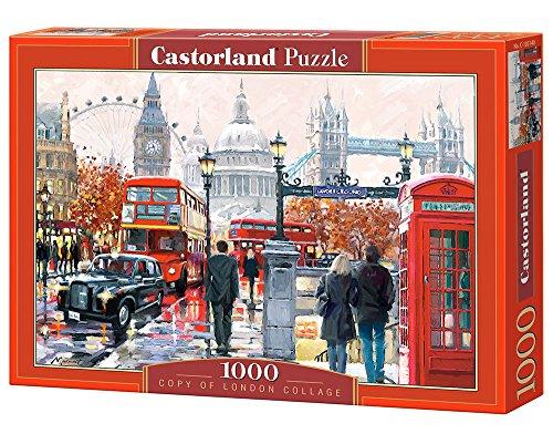 Castorland Londra Collage Di Puzzle 1000 Parti 0