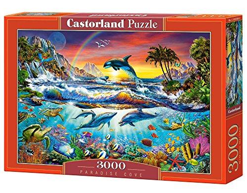 Castorland Paradise Cove Jigsaw Puzzle 3000 Piece Multicolore 0