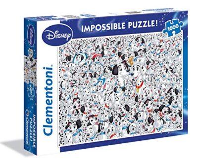 Clementoni 101 Dalmatians Altro Impossible Puzzle 1000 Pezzi 39358 0