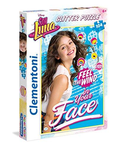 Clementoni 20137 Glitter Soy Luna Puzzle Da 104 Pezzi 0