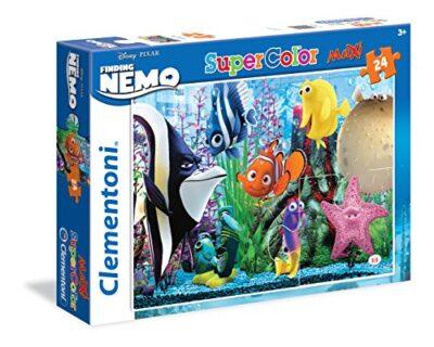 Clementoni 24472 Puzzle Finding Nemo 24 Maxi Pezzi Multicolore 0