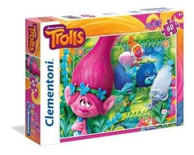 Clementoni 26586 Puzzle 60 Maxi Trolls 0