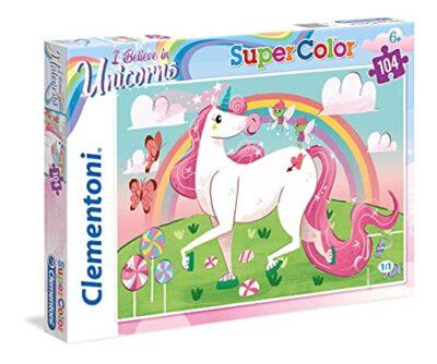 Clementoni 27109 Supercolor Puzzle Unicorno Multicolore 27109 0