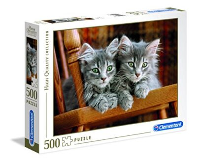 Clementoni 30545 High Quality Collection Puzzle Kittens 500 Pezzi 0