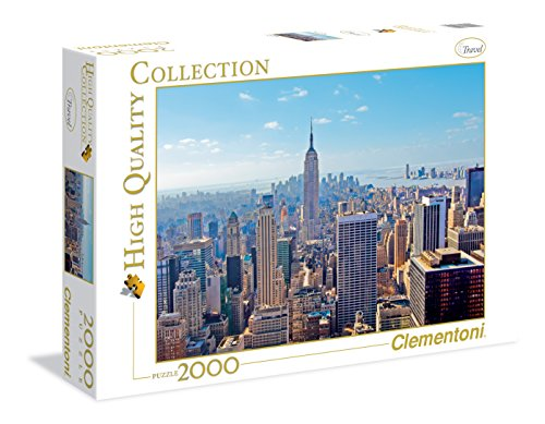 Clementoni 32544 High Quality Collection Puzzle New York 2000 Pezzi 0