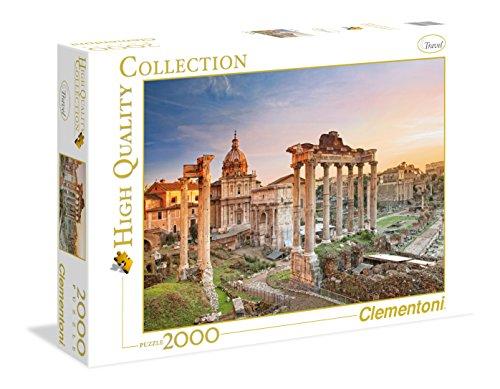 Clementoni 32549 High Quality Collection Puzzle Forum Romanum 2000 Pezzi 0 1