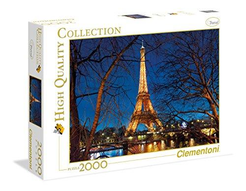 Clementoni 32554 High Quality Collection Puzzle Parigi 2000 Pezzi 0