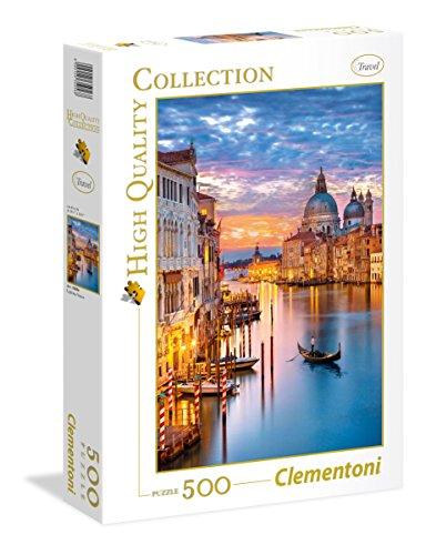 Clementoni 35056 High Quality Collection Puzzle Lighting Venice 500 Pezzi 0