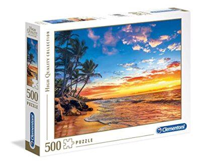 Clementoni 35058 High Quality Collection Puzzle Paradise Beach 500 Pezzi 0