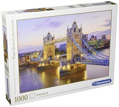 Clementoni 39022 Collection Puzzle Tower Bridge 1000 Pezzi Puzzle Adulti 0