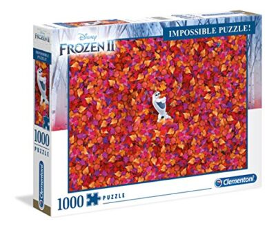 Clementoni 39526 Impossible Puzzle Disney Frozen 2 1000 Pezzi Made In Italy Puzzle Adulto 0