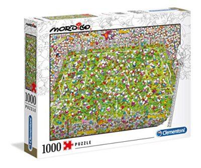 Clementoni 39537 Mordillo Puzzle The Match 1000 Pezzi Made In Italy Puzzle Adulti 0